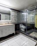 A neat modern toilet royalty free stock photos