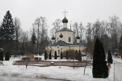 Neat old church in the winter. Neat old church in the winter Royalty Free Stock Photo