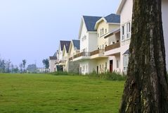 Neat and tidy houses Royalty Free Stock Photography
