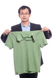 Neaten the shirt Stock Photography