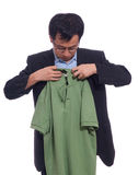 Neaten the shirt Royalty Free Stock Photo