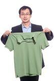 neaten skjortan Arkivbild