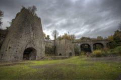 Neath Abbey Ironworks imagens de stock
