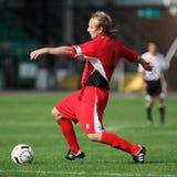 Neath athletische v Bala Stadt Lizenzfreies Stockbild