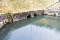 Neath kanalhandfat, Resolven royaltyfri bild