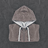 Neatly folded mens hoodies Royalty Free Stock Photo