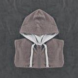 Neatly folded mens hoodies Royalty Free Stock Photo