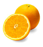 Neatly retouched orange Stock Photography
