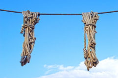 Neatly ropes Royalty Free Stock Photography
