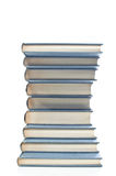 Neatly Stacked Books Royalty Free Stock Images