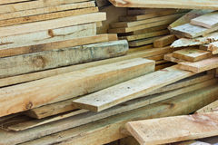 Firewood. Neatly stacked firewood creates intersting pattern Stock Image
