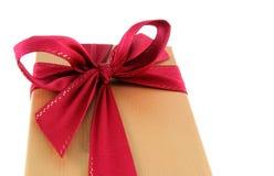 Neatly Wrapped Xmas Gift Stock Photos