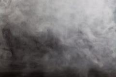 Nebbia astratta sul fondo di colore scuro Fotografie Stock