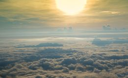 Nebbia bella Immagini Stock