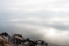Nebbia del mare Fotografia Stock Libera da Diritti