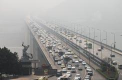 Nebbia densa fotografie stock