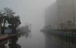 Nebbia densa Fotografia Stock
