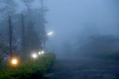 Nebbia di Khaokho Nebbia del mare Fotografie Stock