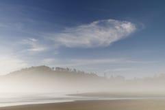 Nebbia di mattina Immagine Stock