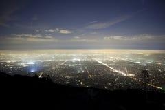 Nebbia di Pasadena Immagini Stock Libere da Diritti