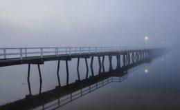 Nebbia di primo mattino Immagine Stock Libera da Diritti