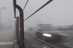 Nebbia di San Francisco del ponte di GoldenGate Immagine Stock