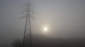 Nebbia di timore Fotografia Stock