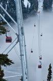 Nebbia entrante della gondola Fotografie Stock