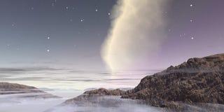 Nebbia nel cielo Immagini Stock Libere da Diritti
