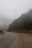 Nebbia nelle montagne Fotografie Stock