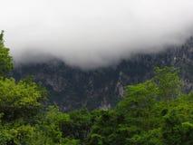 Nebbia nelle montagne Immagine Stock Libera da Diritti
