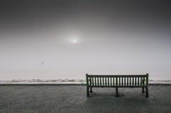 Nebbia sopra il fiume Humber Fotografie Stock