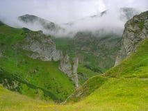 Nebbia in Tatras polacco Immagine Stock