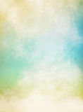 Nebbia verde e gialla Immagine Stock Libera da Diritti