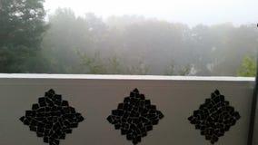 Nebbioso nebbioso nebbioso fotografia stock libera da diritti