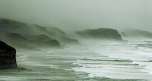 Nebel über 12 Aposteln Lizenzfreie Stockbilder