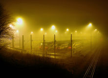 Nebel Stockfoto