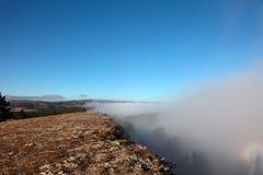 Nebel lizenzfreie stockfotos