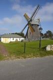 Nebel (Amrum) - moinho de vento Imagens de Stock
