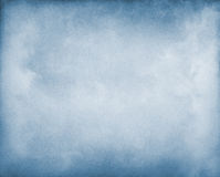Nebel auf Blau Lizenzfreies Stockfoto