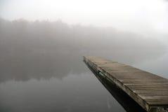 Nebel auf dem Wasser Lizenzfreies Stockfoto