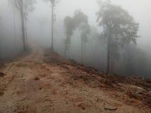 Nebel auf den Steigungen der Berge 3 Lizenzfreie Stockbilder