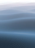 Nebel auf der blauen Wüste Lizenzfreie Stockfotos