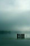 Nebel auf See Lizenzfreie Stockfotografie
