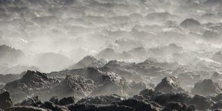 Nebel aus den Grund Lizenzfreie Stockfotos