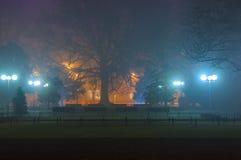 Nebel an der Dämmerung Lizenzfreies Stockbild