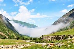 Nebel in der Schlucht Lizenzfreies Stockfoto