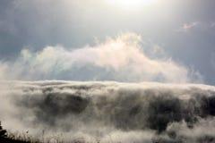 Nebel-Gurt Stockfotos