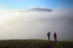 Nebel im Traum lizenzfreie stockfotografie