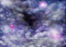 Nebelfleck Stockfoto
